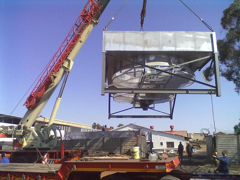 Loading of Plenum Structure for delivery to client